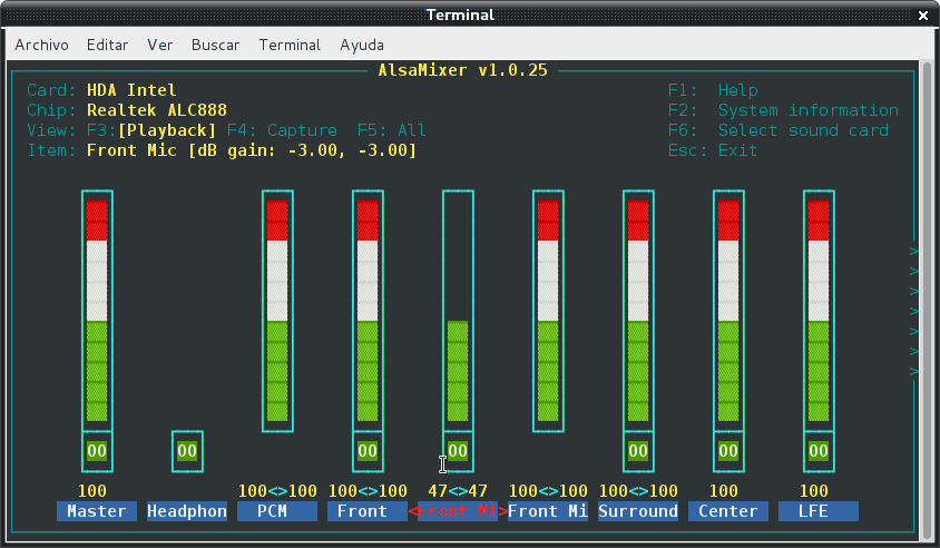 Resolver problemas de audio en debian Wheezy con Intel Corporation NM10/ICH7 (3/3)